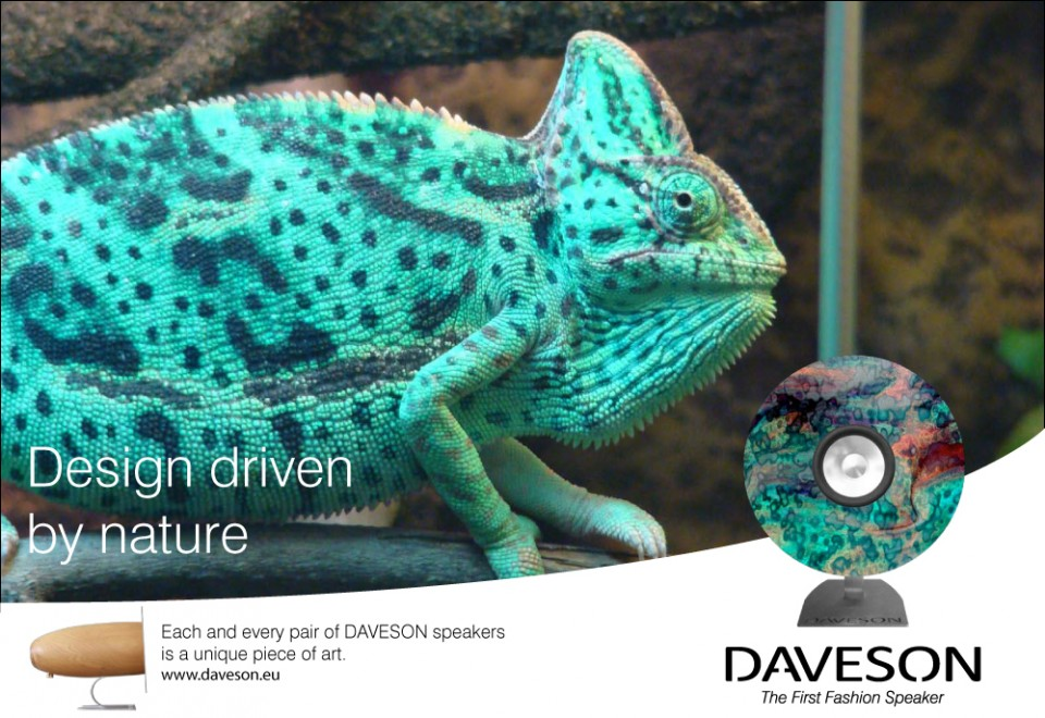 DAVESON SPEAKERS – plakaty reklamowe
